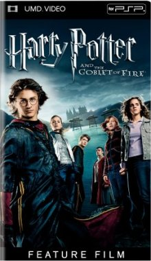 Harry Potter And The Goblet Of Fire UMD Movie PSP