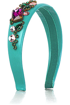 Miu Miu Jewel embellished headband