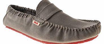Mens Mocks Grey Saddle Shoes