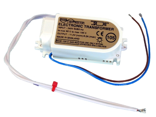 Electronic Transformer 12 Volt, 20 to 105 VA, Remote dimmable