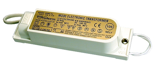 Electronic Transformer 12 Volt, 20 to 105 VA