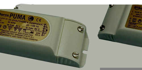 Electronic Transformer 12 Volt, 35 to 105 VA