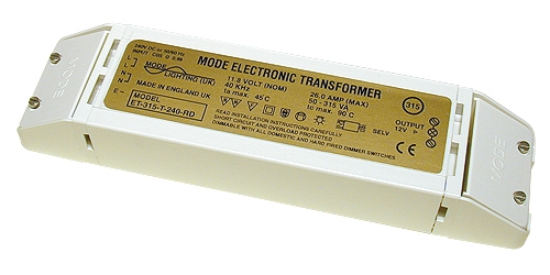 Electronic Transformer 12 Volt, 50 to 250 VA