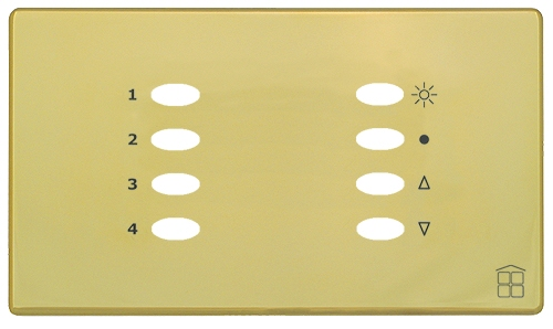 SceneStyle4 Polished Brass Facia
