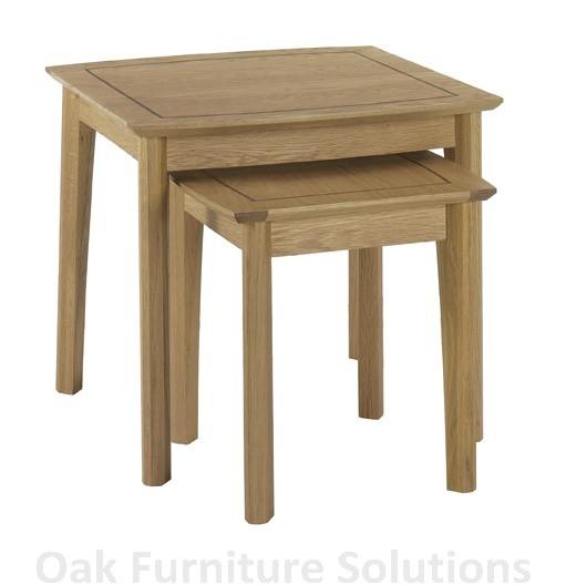 oak furniture mele and co mele co ida burl oak finish  : modena nest of 2 tables from www.comparestoreprices.co.uk size 511 x 528 jpeg 70kB