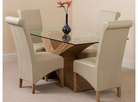 Valencia oak furniture oak dining tables reviews for Modern furniture direct
