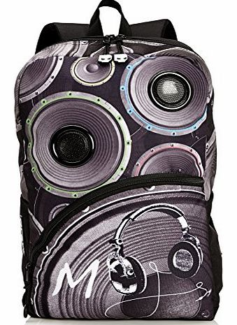 Mojo Unisex-Adult Mojo Speaker Backpack KZ9983488 Black product image