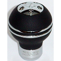 Ludo & Del Sol Momo-gear-knob-sphere-black-leather