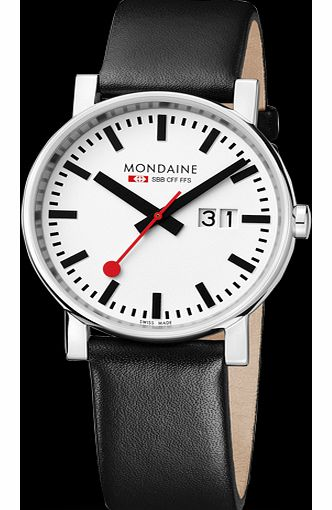 Mondaine 40mm Watch A627.30303.11SBB