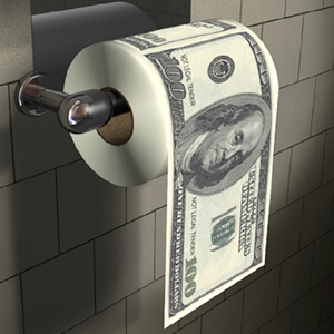 Money Toilet Roll Dollar Bill Toilet Paper Review