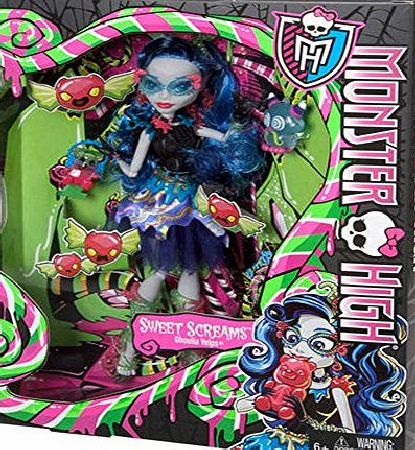 Monster High Toy - Sweet Screams - Ghoulia Yelps Deluxe Fashion Doll - Daughter of the Zombies