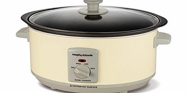 Morphy Richards Accents 460002 3.5 Litres Slow Cooker - Cream product image
