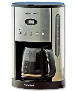 MORPHY RICHARDS Cafe Matlino Filter Coffee Maker - review, compare prices, buy online
