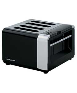 Morphy Richards Metallik 4 Slice Toaster - review, compare ...