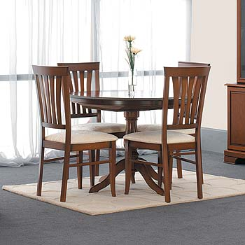 Geneva Round Extending Dining Set