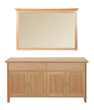 Horizon 4 door sideboard Morris home furniture outlet