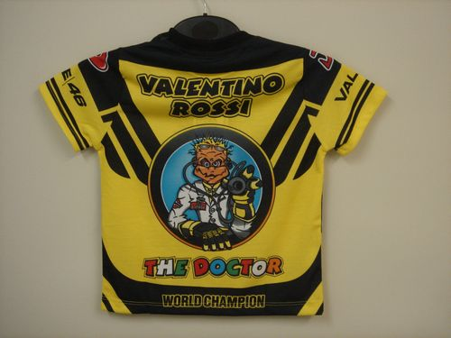moto gp merchandise valentino rossi kids the doctor t. Black Bedroom Furniture Sets. Home Design Ideas
