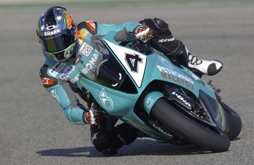 Moto Gp Troy Corser Foggy Petronas Racing Poster Medium 42Cm X 30Cm