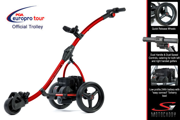S1 Electric Trolley- Red