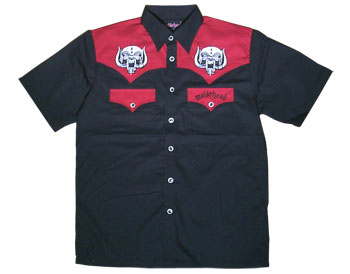 Motorhead - Western Fashion Shirt - CLICK FOR MORE INFORMATION