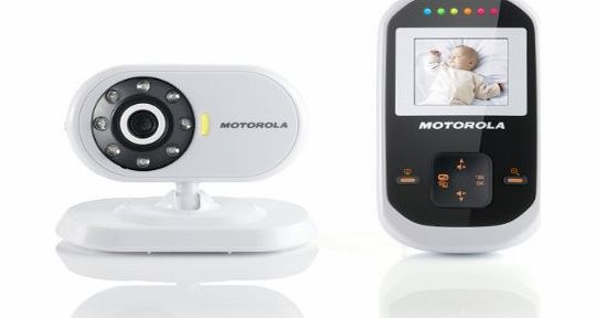 motorola mbp18 digital video baby monitor review compare prices buy online. Black Bedroom Furniture Sets. Home Design Ideas