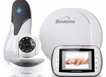 motorola mbp41 sense pads monitor pack baby monitor review compare prices. Black Bedroom Furniture Sets. Home Design Ideas