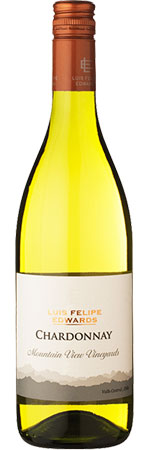 Mountain View Chardonnay 2013, Luis Felipe product image