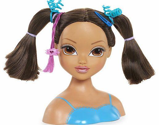 Doll Head Hair Styling: Doll Styling Head