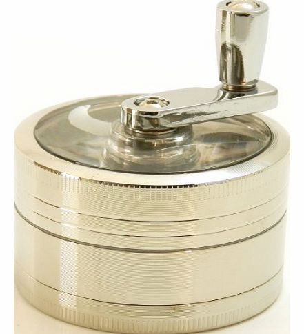 Mr. Brog Three Piece 2 1/2`` Herb, Spice, Tobacco, etc Grinder with Lever product image