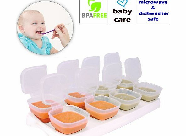 Baby Food Freezer Storage Containers Bpa Free