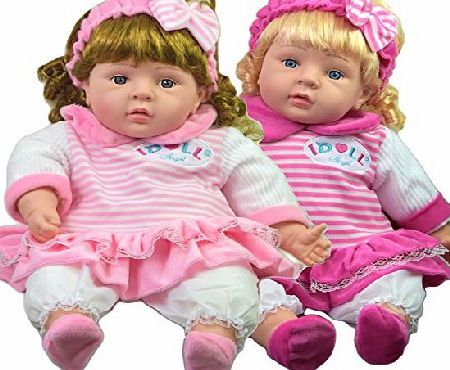 MTS Lifelike Large Size Soft Bodied Chubby Baby Doll Girls Boys Toy With Sounds
