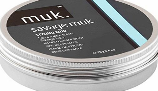 MUK  Haircare Savage Styling Mud