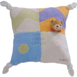 Kaloo liliblue rabbit patchwork doudou kende