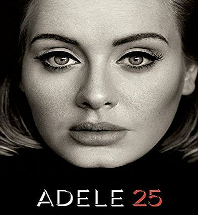 Music Sales Adele 25 (Piano, Vocal amp; Guitar) Book (Pvg)