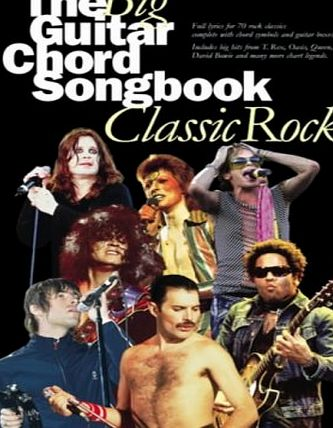 Music Sales The Big Guitar Chord Songbook: Classic Rock