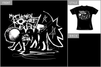 Drumline t shirts for A chemical romance salon