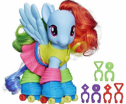 my little pony rainbow power my little pony fashion style figure rainbow dash doll review