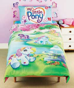 My Little Pony Single Duvet Cover Set Duvet Cover - review ...