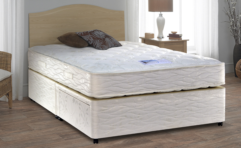 Myers single beds for Single divan bed no mattress