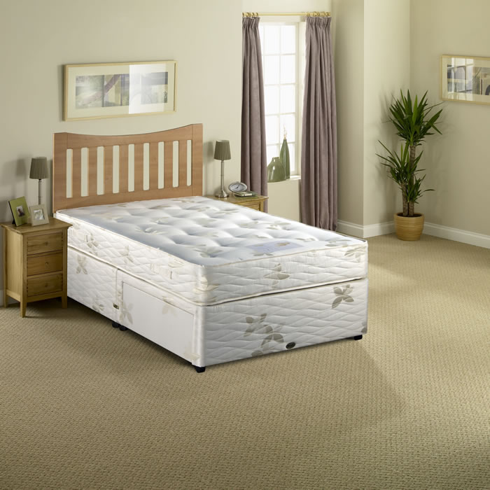 Myer s beds posture myerpaedic 4ft small double divan bed for What s a divan bed