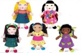 Multicultural Club Kids Dolls Set of 8