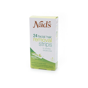 NADS For Women Facial Hair Removal Strips - 24 Strips product image