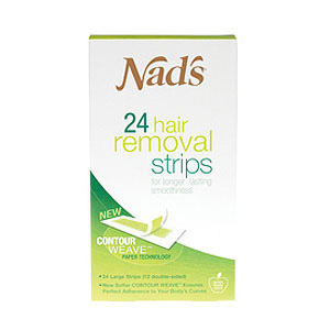 NADS For Women Hair Removal Strips - 24 Strips product image