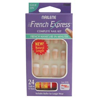 Nails Nailene French Manicure (Short) Set