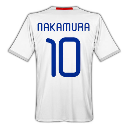 Adidas 2010-11 Japan World Cup Away (Nakamura 10)