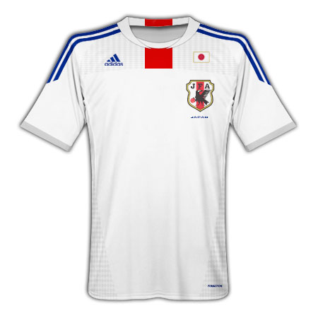 Adidas 2010-11 Japan World Cup Away Shirt