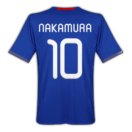 Adidas 2010-11 Japan World Cup Home (Nakamura 10)