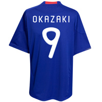 Adidas 2010-11 Japan World Cup Home (Okazaki 9)