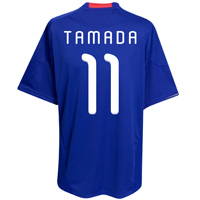 Adidas 2010-11 Japan World Cup Home (Tamada 11)