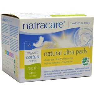 Natracare Cotton Ultra Regular Towels with Wings - 14